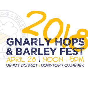 2018 GNARLY HOPS & BEER FEST @ Downtown Culpeper