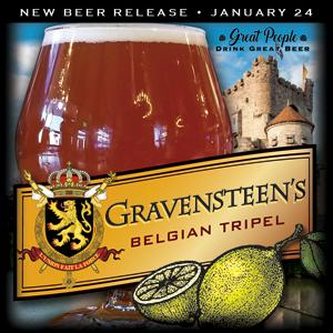 NEW: GRAVENSTEEN'S TRIPEL @ 2 Silos Brewing