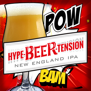 NEW: HYPE-BEER-TENSION @ 2 Silos Brewing