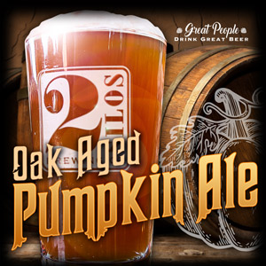 BLACK FRIDAY BEER SPECIAL: OAK AGED PUMPKIN ALE @ 2 Silos Brewing